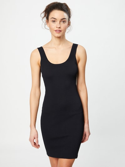 GUESS Dress 'AGATHA' in black: Frontal view