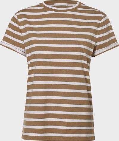 BOSS Casual T-Shirt 'Espring' in hellbeige / weiß, Produktansicht