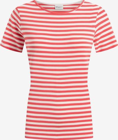 REDGREEN T-Shirt 'Hedy' in feuerrot / weiß, Produktansicht