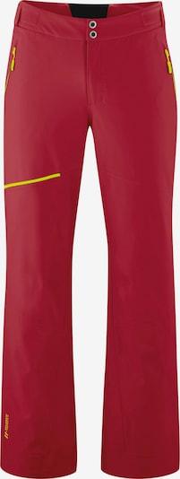 Maier Sports Skihose 'Fast Move' in orange / rot, Produktansicht