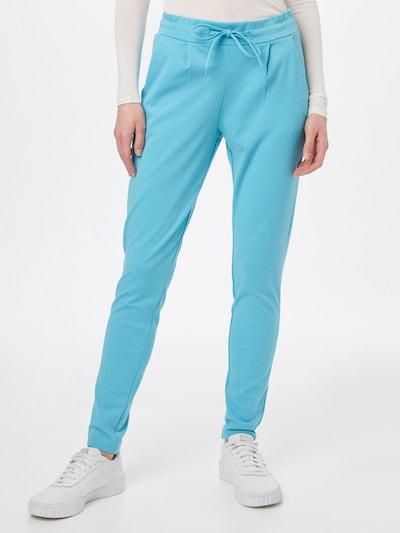 ICHI Hose in blau, Modelansicht