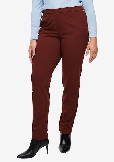 TRIANGLE Hose in braun, Modelansicht