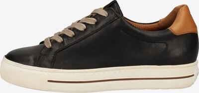 Paul Green Sneaker in braun / schwarz / weiß, Produktansicht
