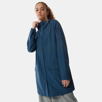 THE NORTH FACE Välikausitakki 'WOODMONT RAIN JACKET' värissä sininen, Mallinäkymä