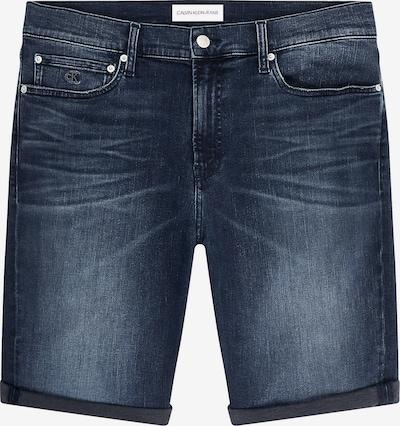Jeans Calvin Klein Jeans pe albastru denim, Vizualizare produs