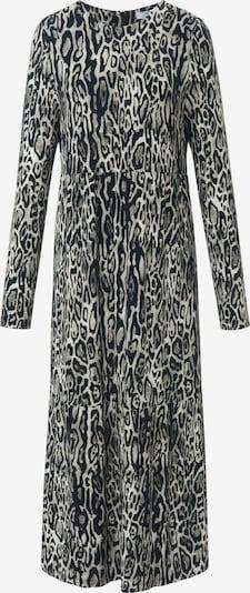 MYBC Jerseykleid Jerseykleid in creme / grau / schwarz, Produktansicht
