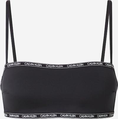 Bikinio viršutinė dalis iš Calvin Klein Swimwear , spalva - juoda / balta, Prekių apžvalga