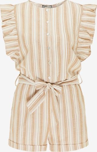 DreiMaster Vintage Jumpsuit in Beige / Caramel / White, Item view