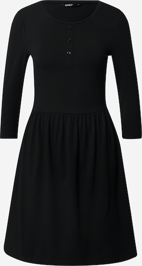 ONLY Robe 'Amber' en noir, Vue avec produit