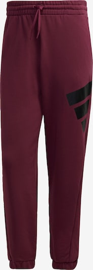 ADIDAS PERFORMANCE Sportbroek in de kleur Bourgogne, Productweergave