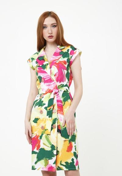Madam-T Sommerkleid 'Aterata' in mischfarben, Modelansicht