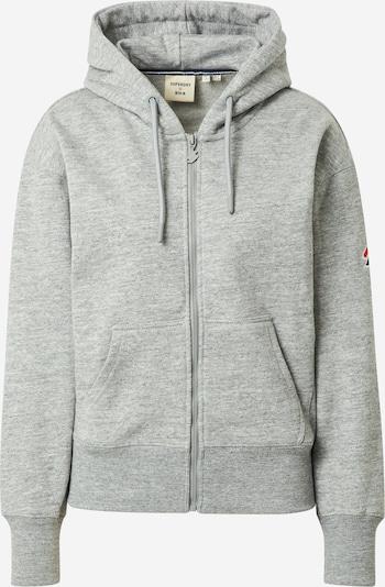 Giacca di felpa Superdry di colore grigio chiaro, Visualizzazione prodotti