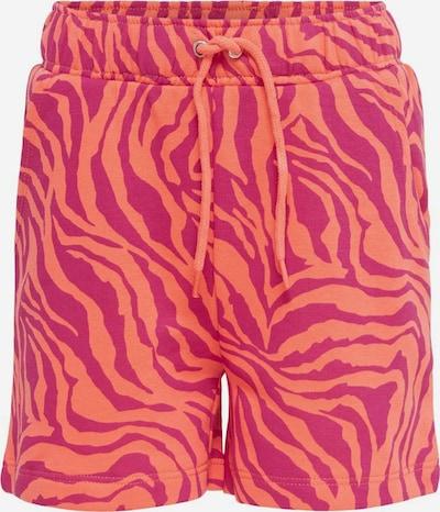 KIDS ONLY Pantalon en orange / rose: Vue de face