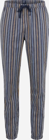 SCHIESSER Pyjamahose in navy / braun / grau / weiß, Produktansicht