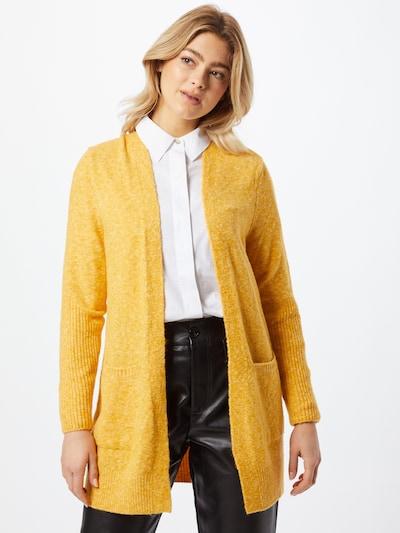 STREET ONE Strickjacke in gelb, Modelansicht