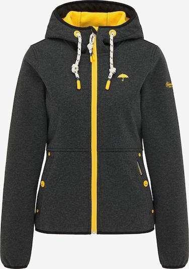 Schmuddelwedda Weatherproof jacket in Yellow / Basalt grey, Item view