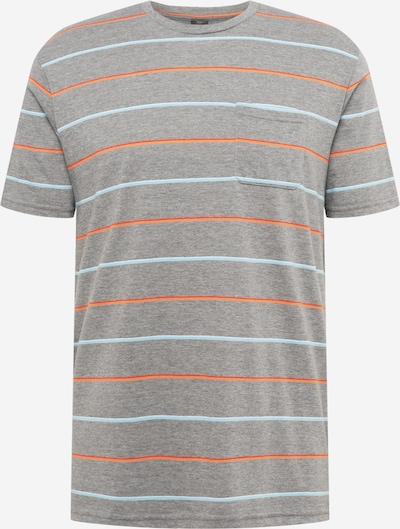 OAKLEY T-Shirt fonctionnel en turquoise / gris / orange / blanc, Vue avec produit