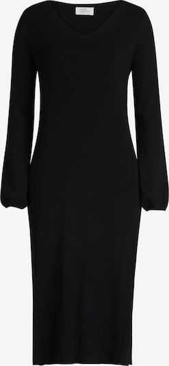 Vera Mont Strickkleid mit Struktur in schwarz, Produktansicht