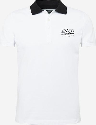 DIESEL Shirt 'RANDY' in schwarz / weiß, Produktansicht