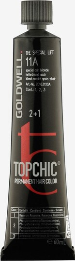 Goldwell Haarfarbe 'Topchic The Special Lift' in silbergrau / rot / schwarz: Frontalansicht