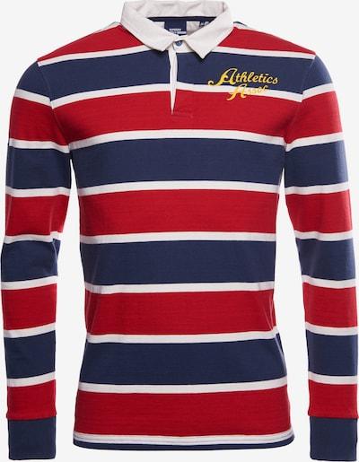 Superdry Shirt in de kleur Donkerblauw / Rood / Wit, Productweergave