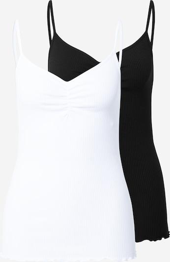 PIECES Podkoszulka 'CARLENE' w kolorze czarny / białym, Podgląd produktu
