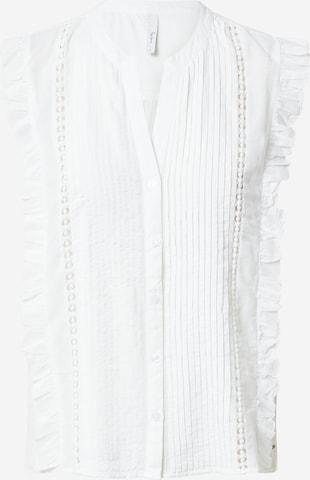 Pepe Jeans Bluse 'ISLA' i hvit