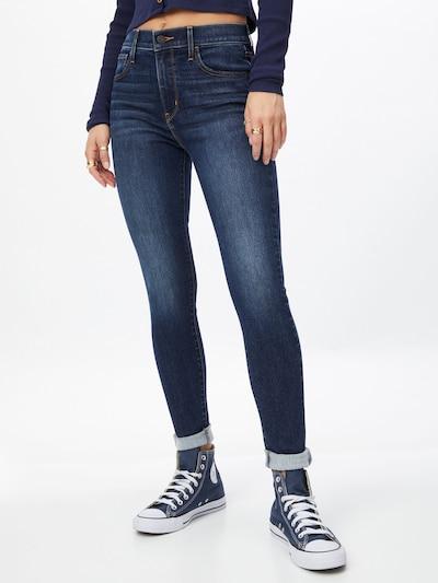 LEVI'S Jeans i mörkblå, På modell