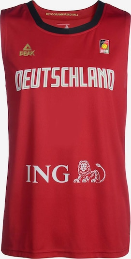 PEAK Basketball Trikot 'Deutschland' in rot, Produktansicht