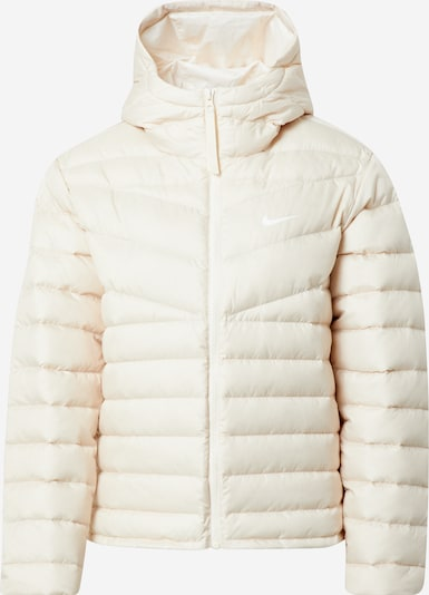 NIKE Sports jacket in cream, Item view