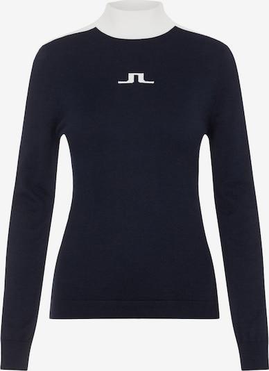 J.Lindeberg Rollkragenpullover in blau, Produktansicht
