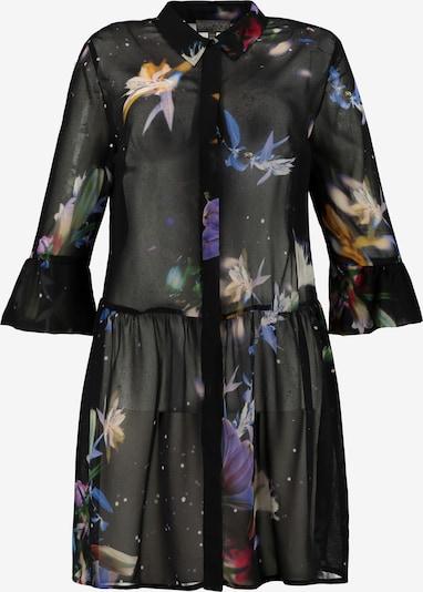 Ulla Popken Longbluse in schwarz, Produktansicht
