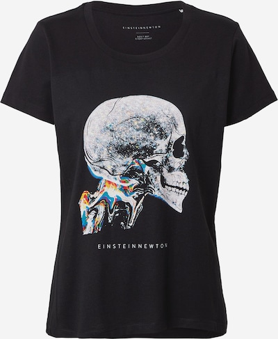 EINSTEIN & NEWTON Тениска в петрол / оранжево / черно / бяло, Преглед на продукта