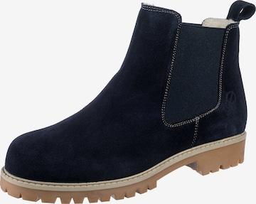 Paul Vesterbro Chelsea Boots in Blau