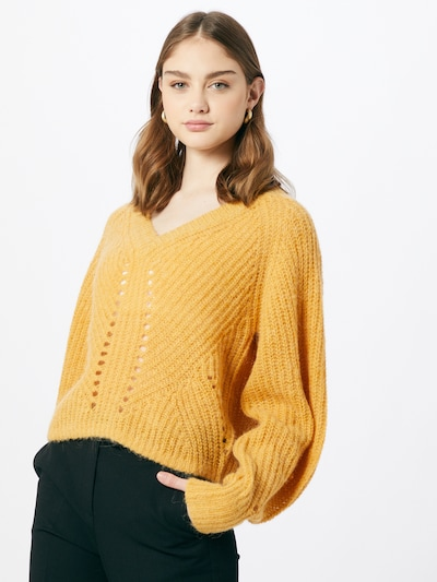 Part Two Sweter 'Glenia' w kolorze złoty żółtym: Widok z przodu