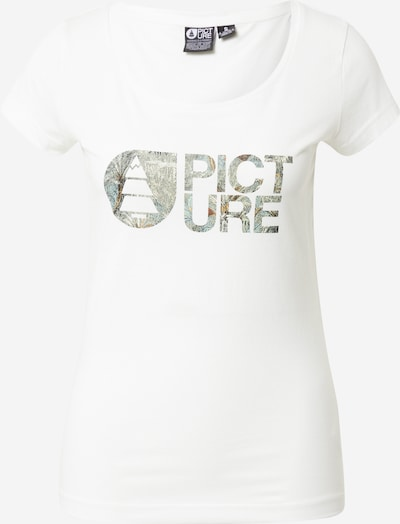 Picture Organic Clothing T-Shirt in grau / weiß, Produktansicht