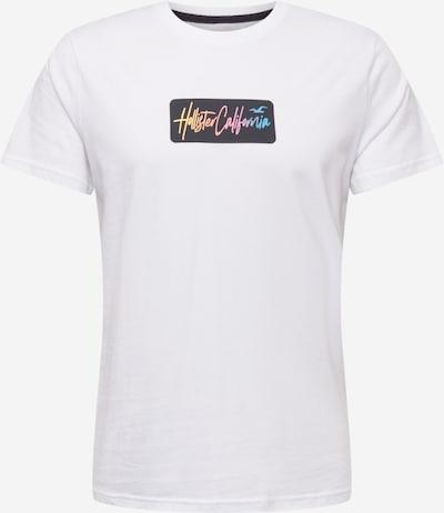 HOLLISTER Camiseta en mezcla de colores / blanco, Vista del producto