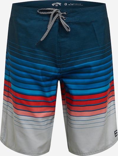 BILLABONG Sportbadeshorts 'ALL DAY' in blau / navy / grau / rot, Produktansicht