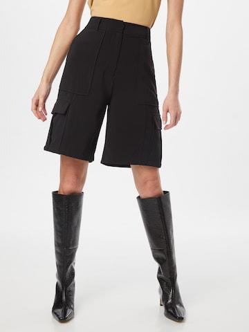 Samsoe Samsoe Shorts 'Citrine' in Schwarz