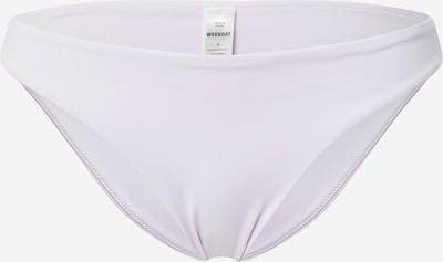 WEEKDAY Bas de bikini 'Ava' en lilas, Vue avec produit
