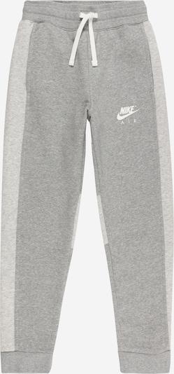 Nike Sportswear Broek in de kleur Donkergrijs / Wit, Productweergave