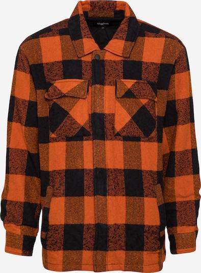 tigha Tussenjas 'Luke' in de kleur Sinaasappel / Zwart / Zwart gemêleerd, Productweergave
