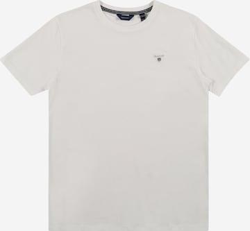 T-Shirt GANT en blanc