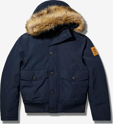 TIMBERLAND Vinterjakke i blå