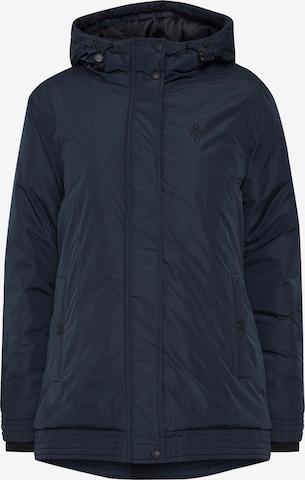 Oxmo Winter Jacket 'Jytte' in Blue