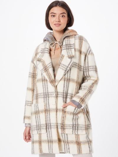 PATRIZIA PEPE Mantel in hellbeige / graumeliert / weiß, Modelansicht
