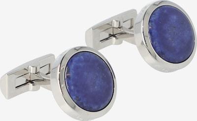 Davidoff Manschettenknöpfe 'Precious Stones' in blau / silber, Produktansicht