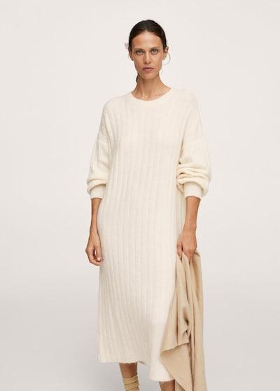 Rochie tricotat 'Canali' MANGO pe culoarea pielii, Vizualizare model