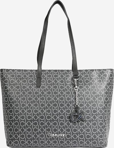 Calvin Klein Shopper en negro / blanco, Vista del producto