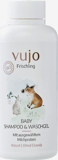 vujo Frischling Duschgel '2 in 1' in weiß, Produktansicht